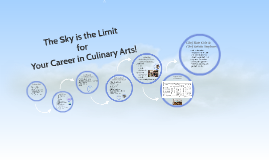 The Sky is the Limit in Culinary Arts