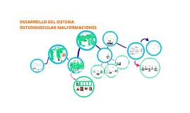 DESARROLLO DEL SISTEMA OSTEOMUSCULAR MALFORMACIONES