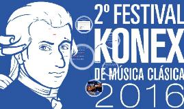 Copy of 2º FESTIVAL KONEX DE MÚSICA CLÁSICA
