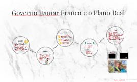 Governo Itamar Franco e o Plano Real