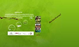 Proyecto FHIA/HELVETAS-SECO 2012-2014