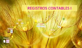 REGISTROS CONTABLES I
