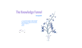 The Knowledge Funnel