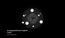 la etapa positivista de Augusto Comte