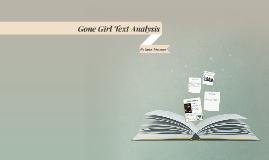 Gone Girl Text Analysis