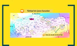 Türkiye'nin Çevre Sorunları