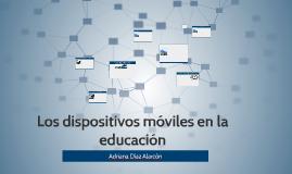 Los dispositivos móviles en la educacion