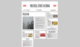 Copy of POLITICAL STRIFE IN CHINA