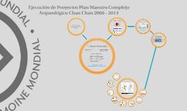 Evaluación del Plan Maestro para el Manejo y la Conservación