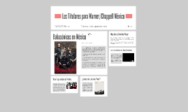 Los Titulares para Warner/Chappell México