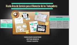Diseño Área de Servicio para el Bienestar de los Trabajadore