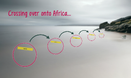 Crossing over onto Africa