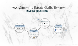 Assignment: Basic Skills Review