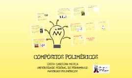 Compósitos Poliméricos
