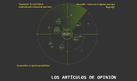 LOS ARTÍCULOS DE OPINIÓN