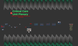 Critical Care Unit Plannery