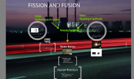 Fission and Fusion P3