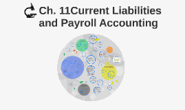 Ch. 11Current Liabilities and Payroll Accounting