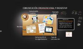 COMUNICACIÓN ORGANIZACIONAL Y BIENESTAR