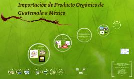Importación de Aceite de palma de Guatemala para su distribu
