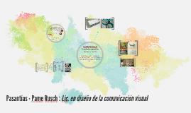 Pasantías - Pame Rusch : Lic. en diseño de la comunicación v