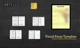 Visual Essay Template