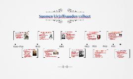 Suomen kirjallisuuden vaiheet