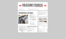 Copy of PUBLICACIONES PERIODICAS