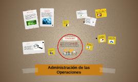 Copy of Administracion de las Operaciones