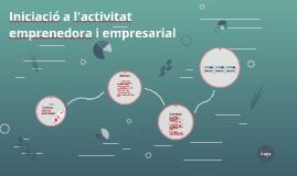 Iniciaci a l'activitat emprenedora i empresarial