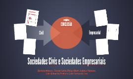 Sociedades Civis e Sociedades Empresariais