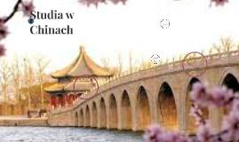 Studia w Chinach