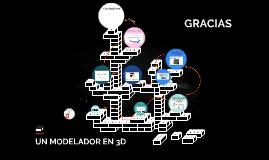Un modelador en 3D