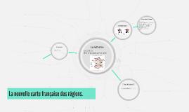 La nouvelle carte française des régions.
