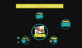 RECLUTAMIENTO ILICITO DE MENORES