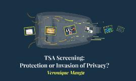 TSA Screening: