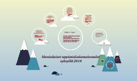 Monialaiset syksy 2018