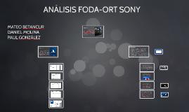 ANÁLISIS FODA-ORT SONY