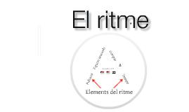 Llenguatge musical II - El ritme (generalitats)