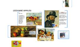 Copy of CEZANNE APPLES