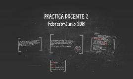 PRACTICA DOCENTE 2
