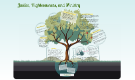 Justice, Righteousness, and Ministry