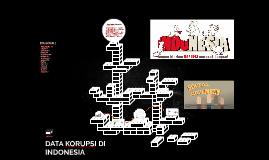 DATA KORUPSI DI INDONESIA