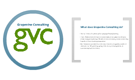 Introduction to Grapevine Consulting