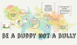 BE A BUDDY NOT A BULLY