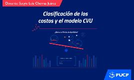 M2 Clasificación de los costos y el modelo CVU