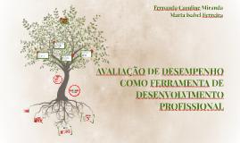 AVALIAÇÃO DE DESEMPENHO COMO FERRAMENTO DE DESENVOLVIMENTO PROFISSIONAL