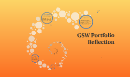 GSW Portfolio Reflection