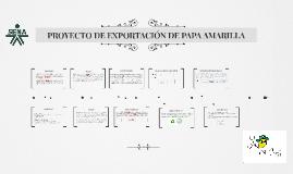 Copy of PROYECTO DE EXPORTACIÓN DE PAPA AMARILLLA
