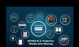 Weekly Sales Meeting, March 20, 2019
